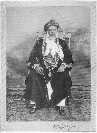 A wealthy Swahili merchant in Zanzibar, who would have been the go-between with the inland merchants