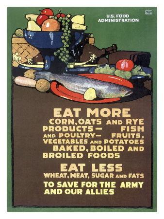 Directions for a war-time foodie