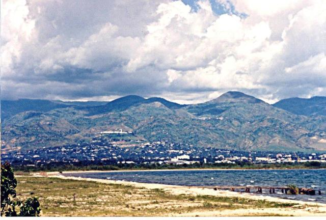 Bujumbura & the lake, 10 years ago, from our project site
