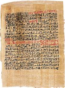 The Papyrus Ebers contains medical treatment for numerous diseases