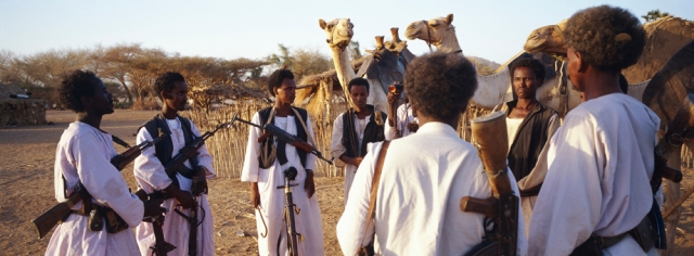 Since the mid 90's, Beja of Sudan have been engaged in separatist movements.  source: Pulitzercenter