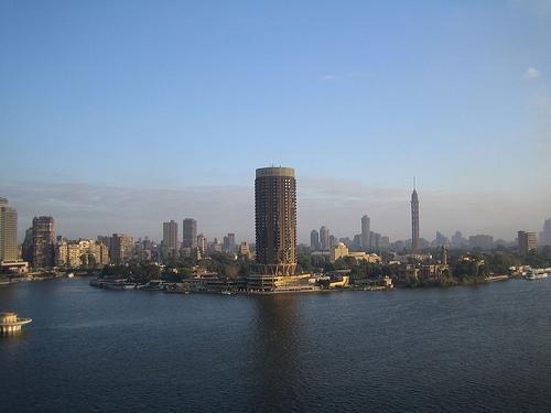 Gazeer Island, in Cairo.  Source:  Flikr - StartAgain