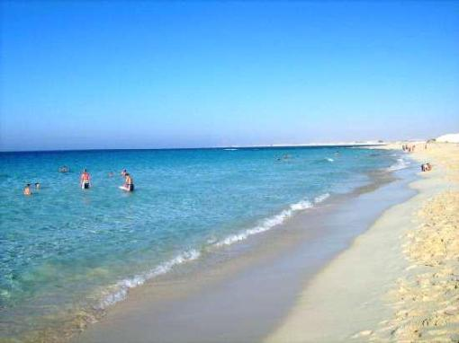 Until recently 'discovered', the beaches here were uncrowded and wonderful.  Source:  al-Maza Beach Resort