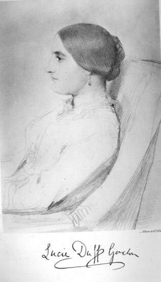 Lady Duff Gordon, author of