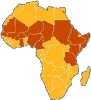 O Abysinnica is located along the same East-West ban of the Sahel in which acacia spp. (gum arabic) are located.  Source:  CNI