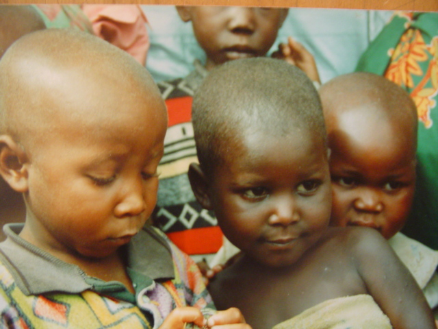 Children, after several months of enriched feeding at one of our maternal child health centres