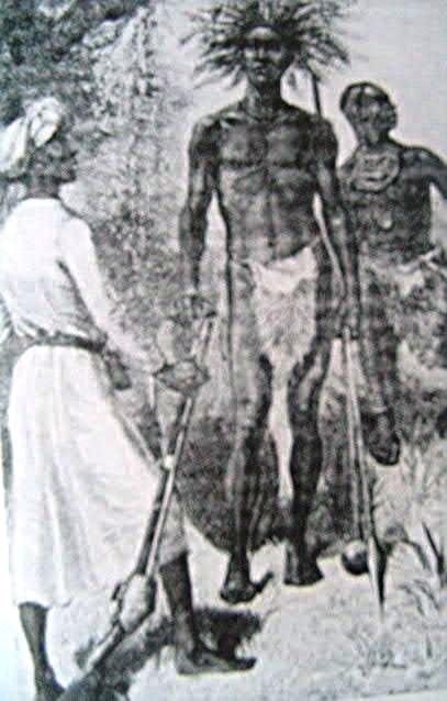 The tall, thin pastoralists of central Africa were identified as descendants of the tribes of Ham. c. 1880