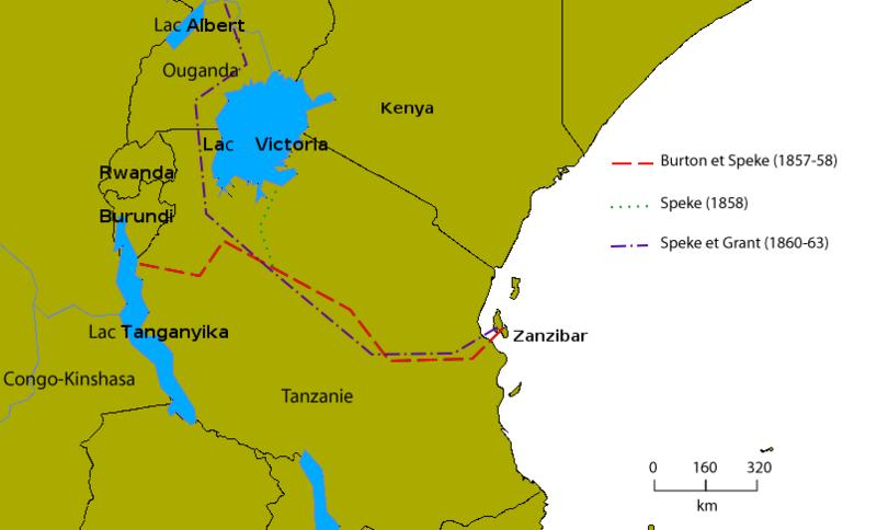 Lake Tanganyika Map Africa Images & Pictures - Becuo