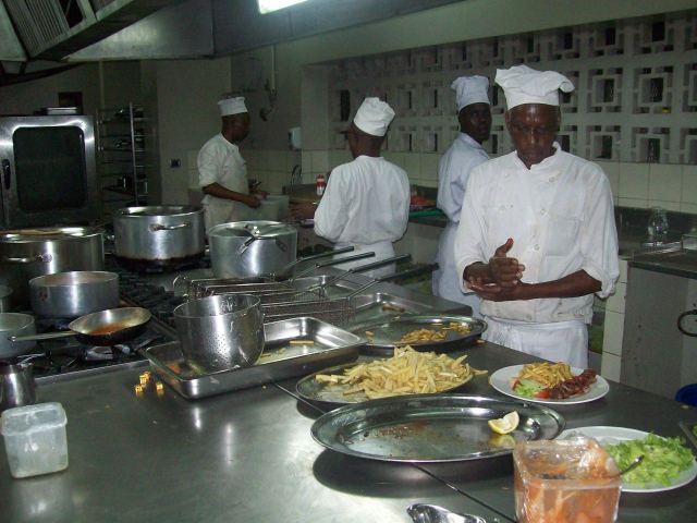 Kitchen Workshop Buffet Lunch Menu