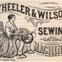 THE LITTLE WONDER: Sewing by machine in 1861