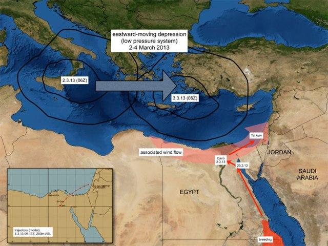 Source.  FAO-Desert Locust Briefs