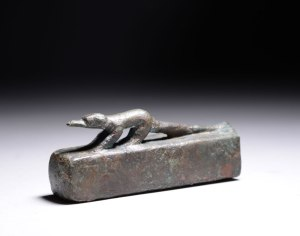 Shrew in a coffin that has not been opened.  664 – 332 BC. This little fellow is currently for sale - follow the link.  Yet another example of the thriving antiquities trade ... www.artancient.net