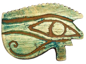 Eye of Horus, Ptolemaic era (305-30 BC).  Source - flikr