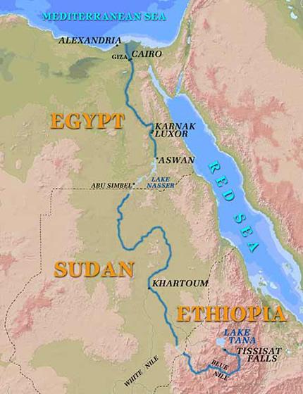 An Ancient Jewish Community On Elephantine Island Aswan - Map of ancient egypt first cataract