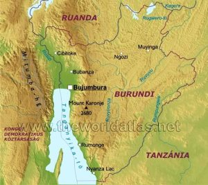 Our area of interest is the north coast of the lake, which extends from the small town of Uvira in the Congo, over to the town of Bujumbura, BurundiSource: open access
