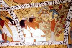 Sennedjem tomb.  Source: osirus.net