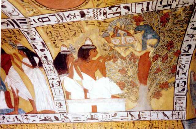 Sennedjem tomb.  Source: osirus.net