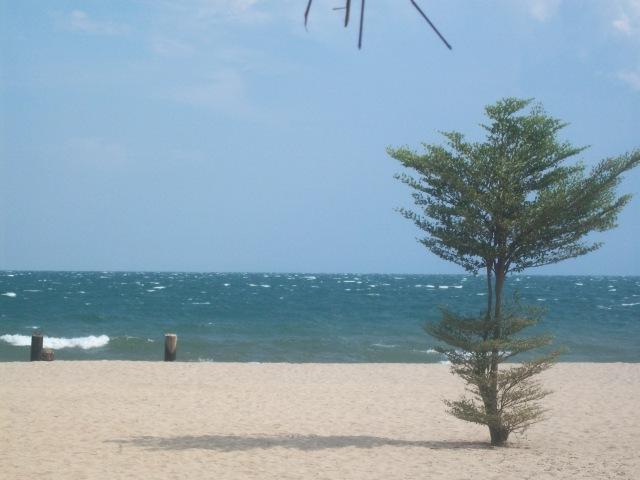 Today, peaceful Lake Tanganyika