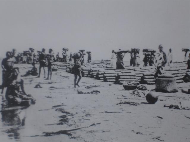 Production and sales of salt in the Gatumba - Kajaga area.  Source: Hans Meyer, Les Barundi.