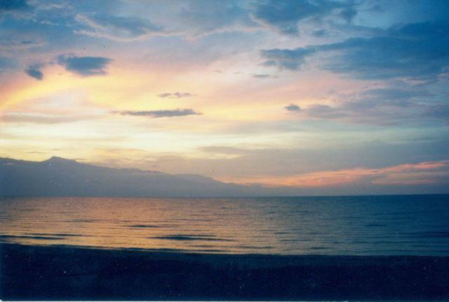 Sunset on Lake Tanganyika