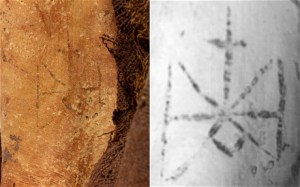 Images of the tattoo. The British Museum Trustees via The Telegraph