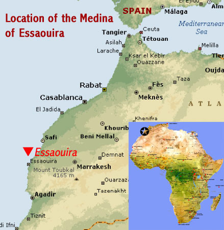 Location map medina of essaouira formerly mogador unesco world location map medina of essaouira formerly mogador unesco world heritage site morocco 1 sciox Gallery