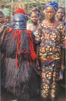 Traditional medicine was tried by many.  mcclusky Sande masker, ndoli jowei, www.mtholyoke.edu