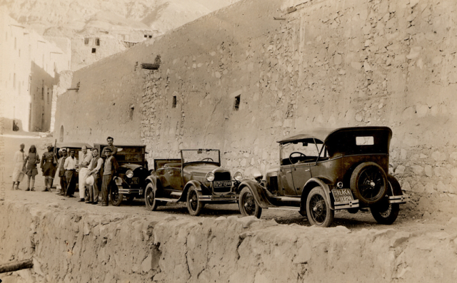 Whittemore's expedition, before leaving the Monastery of Saint Anthony, Egypt, 1930-1931
