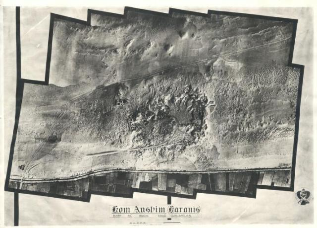 Karanis 1934 aerial photograph, Source - http://quod.lib.umich.edu/